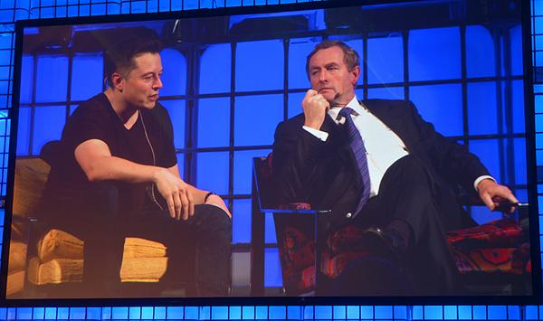Elon Musk na Web Summitu 2013. godine (slika: Marina Filipović Marinshe)