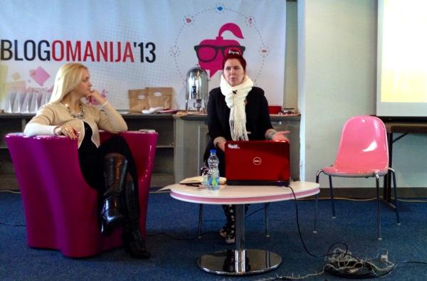 Ivana Popović ili Mali Iv predstavlja svoj blog Slurp-o-rama & Cutensils.