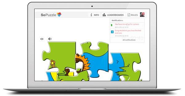 Igra sadrži četiri nivoa, kako bi se korisnik što duže zadržao u aplikaciji.
