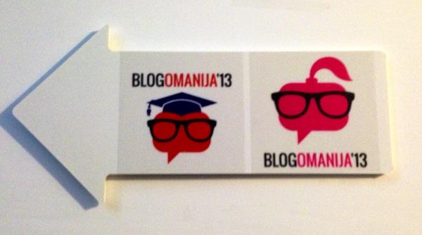 """Ženski forum imao je i poseban """"blogomanijski"""" logotip."""