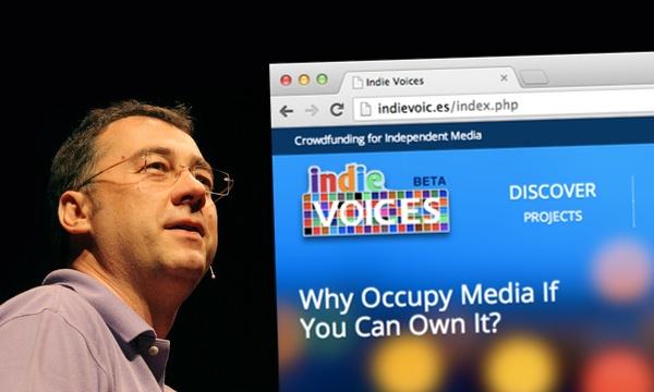 Saša Vučinić već godinama podržava nezavisne medije, a IndieVoice novi mu je projekt.