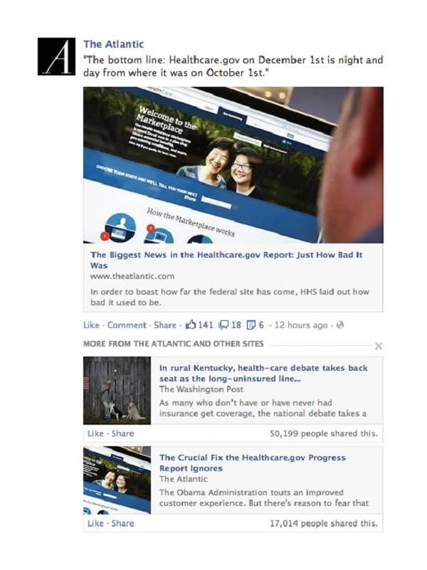 Kako bi bilo lakše doći do kvalitetnog sadržaja, Facebook će predlagati povezane vijesti i članke