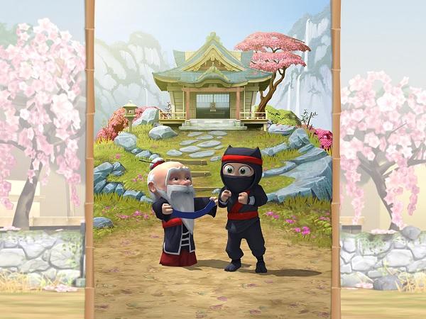 Sensei nindži (odnosno, vama) daje savjete i zadatke te nagrađuje pojasevima.