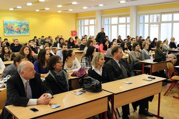 Predavanje je održano na Ekonomskom fakultetu u Osijeku u sklopu