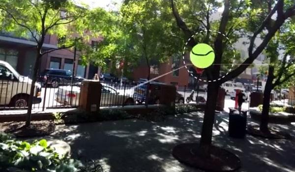 S Google Glassom možete zaigrati i tenis.