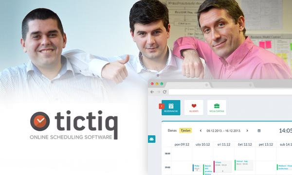 Dennis Puzak, Tvrtko Kračun i Goran Mijalčić suosnivači su Appointment Labsa, startupa koji je lansirao platformu Tictiq.
