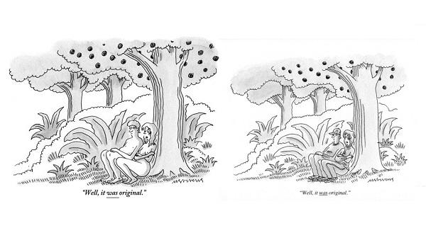 "Verzija New Yorkerovog ""golišavog"" stripa zabranjena na Facebooku i njena revidirana inačica"