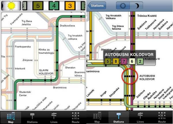 Pronađite raspored vožnje željenog tramvaja