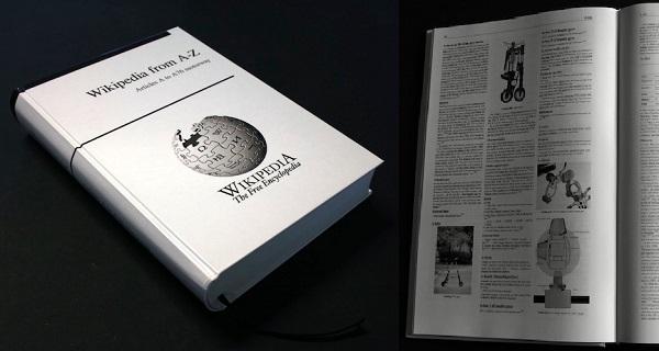 Tiskana Wikipedia imala bi 1000 tomova