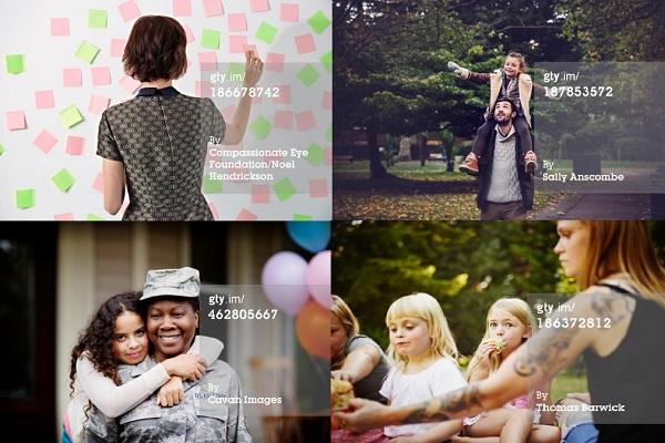 Slike su daleko od tipičnog prikaza žena u neprivlačnim poslovnim kostimima.