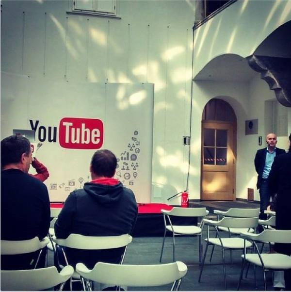 Predstavljanje YouTube oglašavanja danas je održano diljem regije - slika iz Ljubljane (snimio: Luka Hajdin)