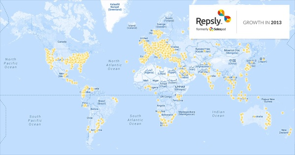 Rast Salespoda/Repslyja (izvor: Salespod blog)