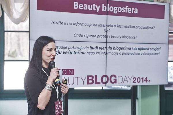 Beauty blogosferu u brojkama predstavila je Ana Popović Kišur, organizatorica događaja.