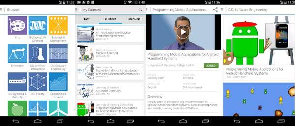 Aplikacija za Android jednostavna je za korištenje, baš kao i ona za iOS
