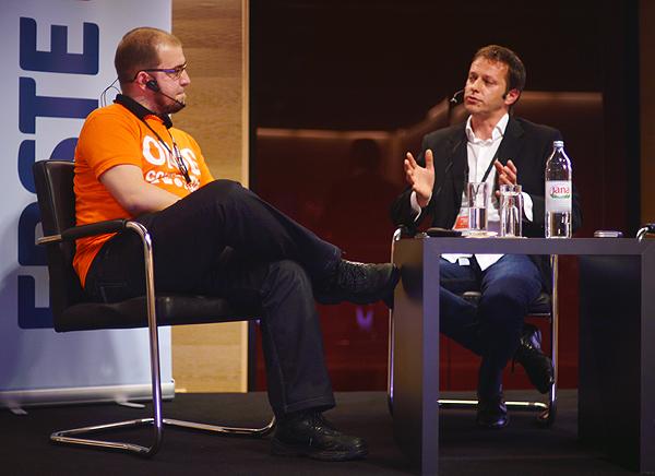 Ivan Brezak Brkan i Goran Rubčić (Slika: Marina Filipović Marinshe)