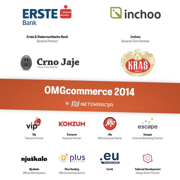 Erste banka sponzor je OMGcommercea.