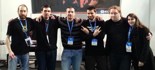 Neki od ključnih članova tima: Hrvoje Horvatek, Davor Ivanuš, Vjeko Koščević, Danijel Mandić, uz osobe koje ih podupiru (izvor: Kickstarter)