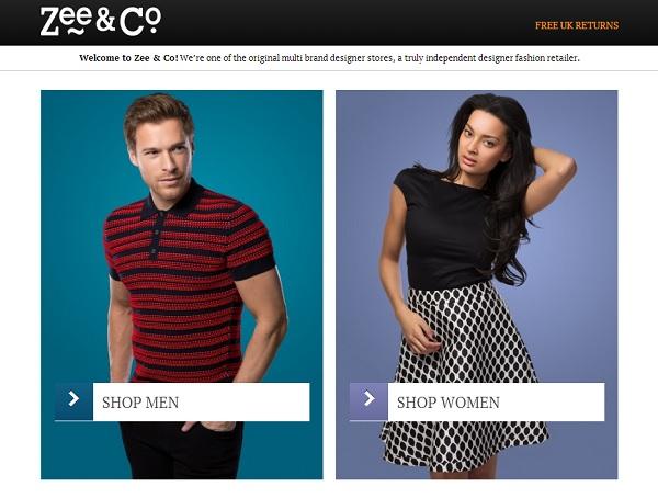 Trenutna naslovna stranica Zee&Coa.