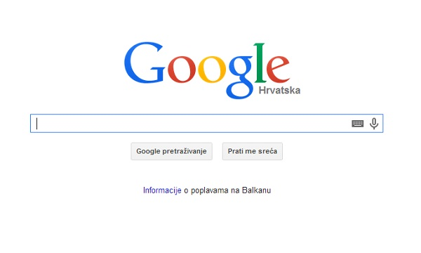 Google poplave