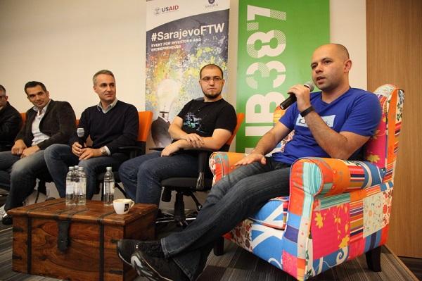 Prvog dana događaja #SarajevoFTW održao se zanimljiv panel o izgradnji lokalnih tvrtki za globalno tržište. (Slike: Foto Vanja Čerimagić)
