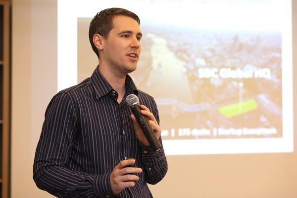 Andy je predstavio program Startupbootcampa.