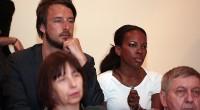 Sarah Kunst dan prije konferencije slušala je i domaće startupe kako prezentiraju svoje projekte (slika: Žarko Bašić/PIXSELL)