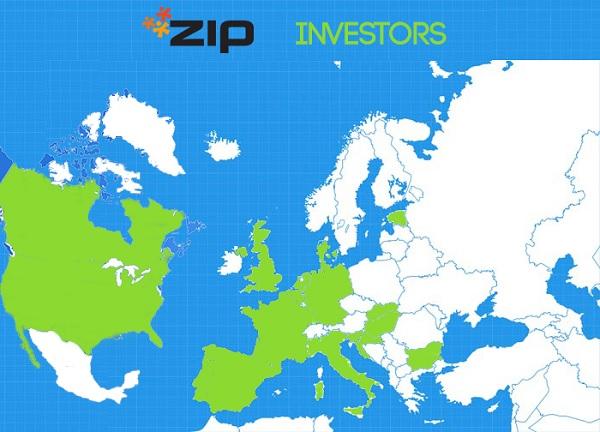 Države iz kojih su stigle investicije (izvor: ZIP)