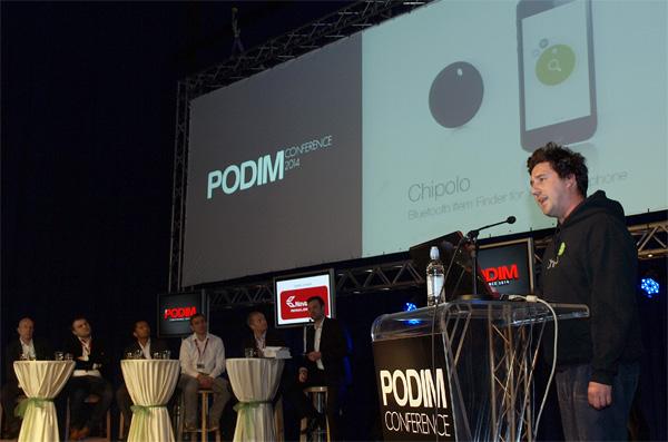 Chipolo se miče sa hardvera na mrežu korisnika povezanih aplikacijom.
