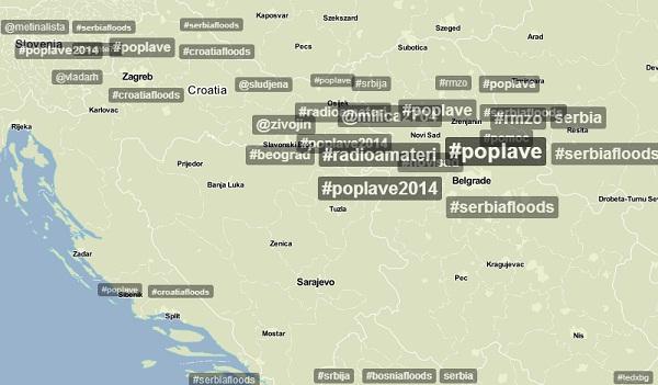 O ovome se najviše govori u regiji na Twitteru. (Izvor: Trendsmap, via: Plagosus)