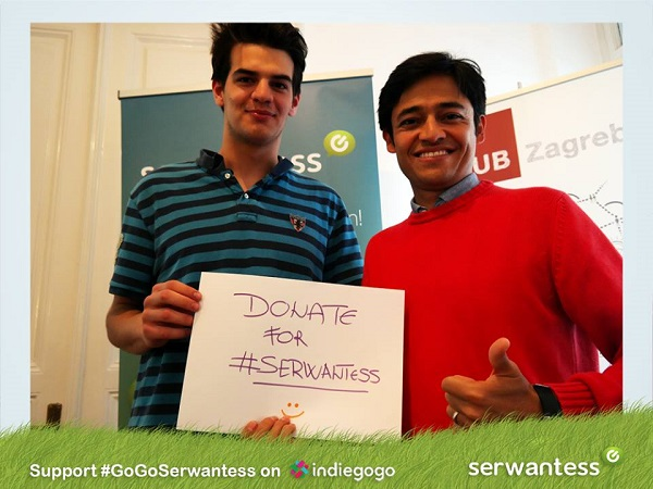 Serwantess je održao i uspješnu crowdfunding kampanju.