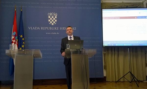 Gov.hr i uslugu e-Građani predstavili su potpredsjednica Vlade Milanka Opačić i pomoćnik Ministra