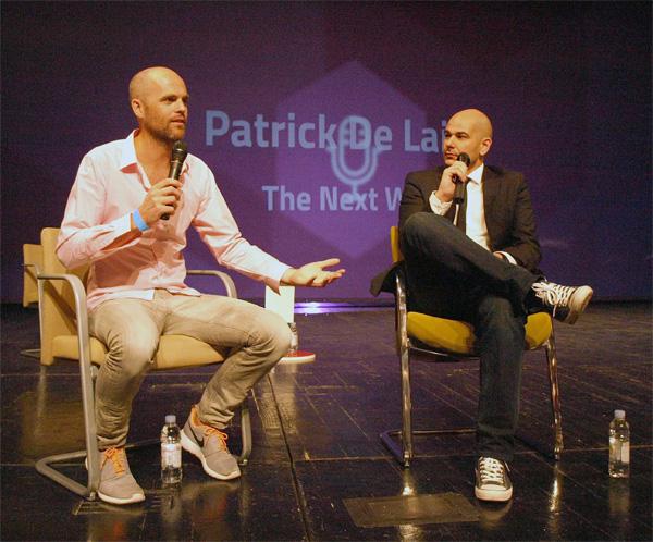 Patrick De Laive u razgovoru s Ivanom Burazinom (snimio Janez Klemenčič)