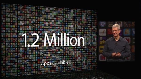 Da, toliko je aplikacija dostupno u App Storeu.