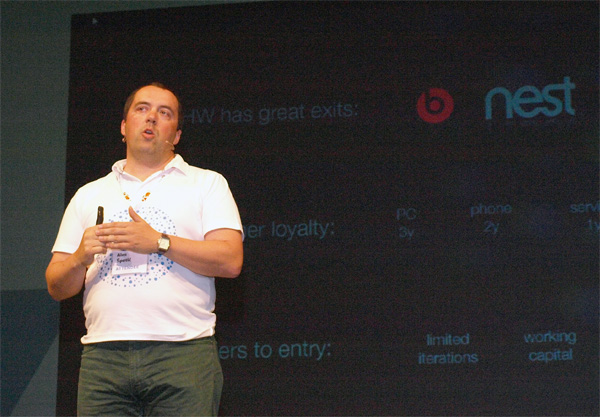 Aleš Špetič, CEO CubeSensors (foto: Janez Klemenčič)