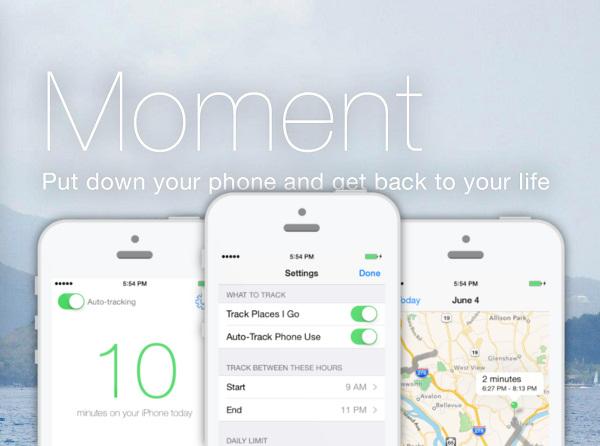 Moment, kao ni većina aplikacija koje koristite, ne skriva što od vas traži i što prati.