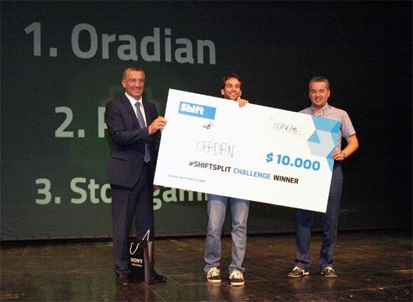 Oradian je osvojio nagradu od 10.000 dolara (fotografije: Janez Klemenčič)