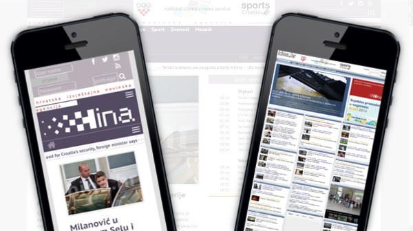 Razlika između dvije stranice na mobilnim uređajima.