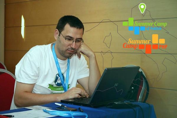 Ivo Lukač na prošlogodišnjem eZ Publish Summer Campu.
