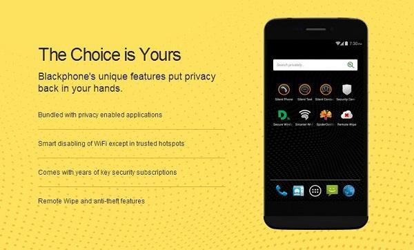 Blackphone je stvoren za one kojima je privatnost na prvom mjestu