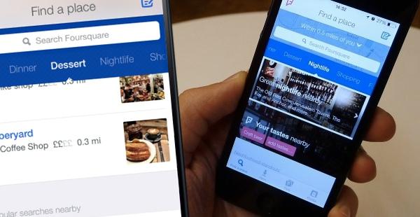 Foursquare je odsad isključivo lokacijski vodič prilagođen vašem ukusu!