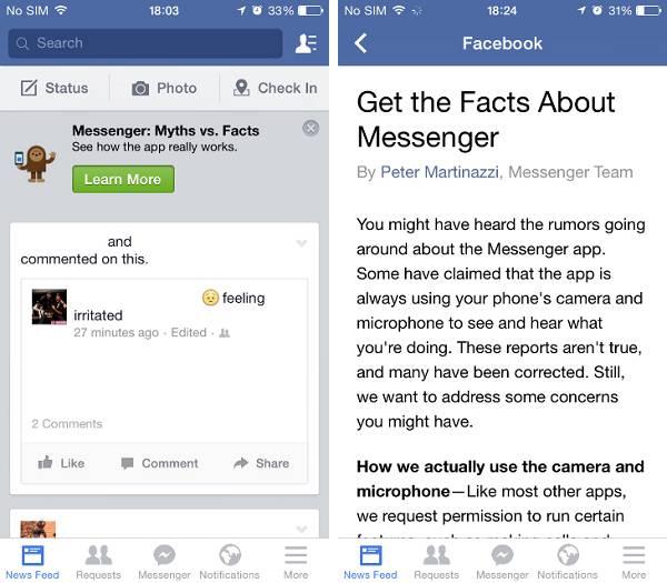 Nemojte tugovati ako iste dobili Facebookovu poruku, objašnjenje je dostupno svima.