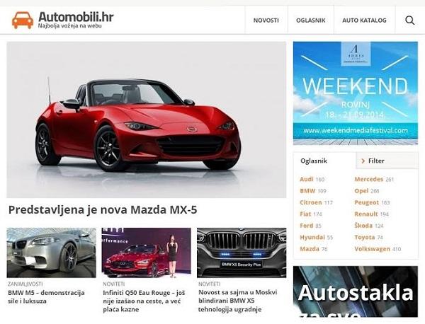 Automobili.hr web