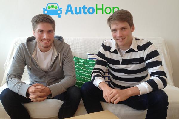 Istvan i Balazs Haidekker, suosnivači Autohopa