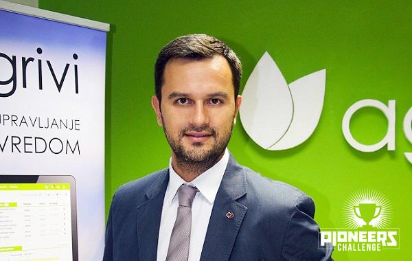 Matija Žulj, direktor Agrivija, iduća dva mjeseca predstavit će se na nekoliko startup natjecanja.
