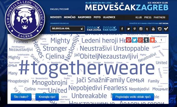 Kampanja #togetherweare počela je na internetu, ali su ju fanovi prenijeli u stvarni svijet.