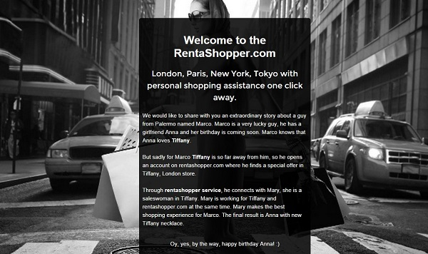Prvi korak - prikupiti što više zainteresiranih osoba na web stranicu.