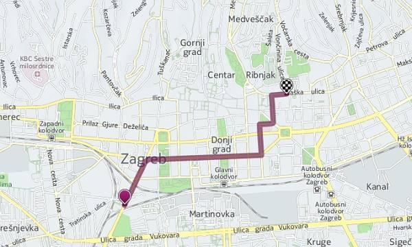 Usput budi rečeno, HERE maps, za razliku od Googleovih karata i u hrvatskoj nudi podatke kako doći do nekog mjesta javnim prijevozom