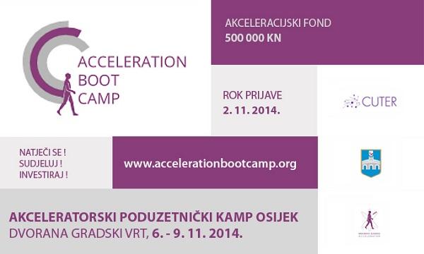 Poduzetnički kamp u Osijeku prima prijave projekata do 2. 11.