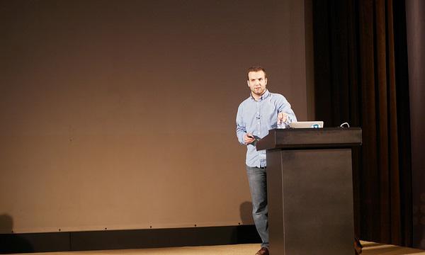 Andrew Nacin, glavni developer WordPressa i ove je godine održao zanimljivo predavanje o budućnosti WordPressa (Autor fotografije: Andrey Savchenko)