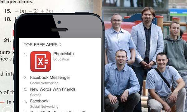 PhotoMath je trenutno prvi na App Storeu među besplatnim aplikacijama